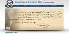 Kossuth Gimnázium 4C honlapja