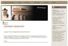 Bergauer Kft. honlapja